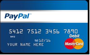 mastercard nummer fake