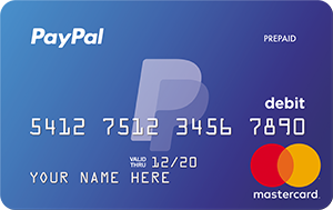 Already have a PayPal Prepaid Card? Activate your Card Account here.1